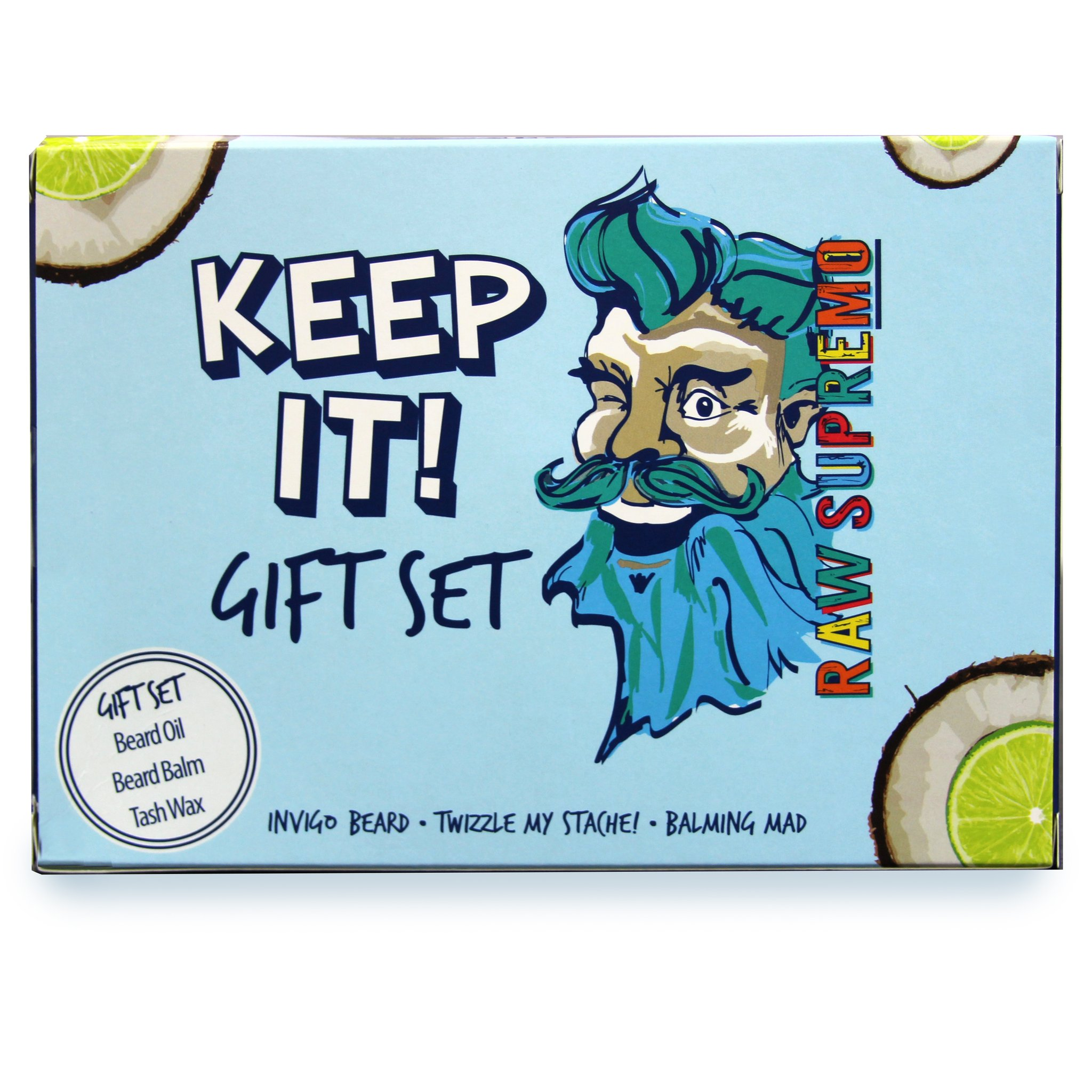 Raw Supremo - Keep It Gift Set - Barber dárková sada