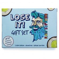 Raw Supremo - Lose It Gift Set - Dárková sada na holení