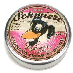 Schmiere - for girls - pomáda pro ženy se střední fixací (002), 140ml