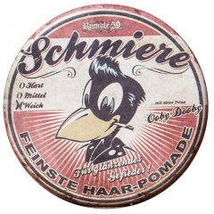 Schmiere - Pomade brilliance / light - pomáda se slabou fixací (019), 140ml