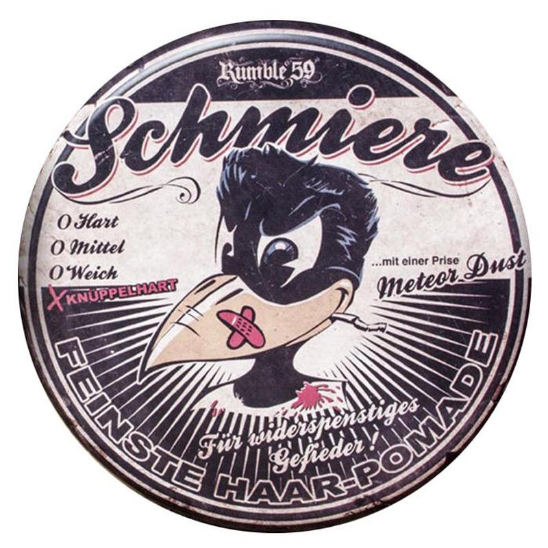 Schmiere - Pomade rock-hard - pomáda s extra silnou fixáciou (088), 140ml