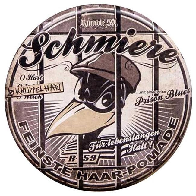 Schmiere - Special Edition rock-hard - pomáda s extra silnou fixací (071), 140ml
