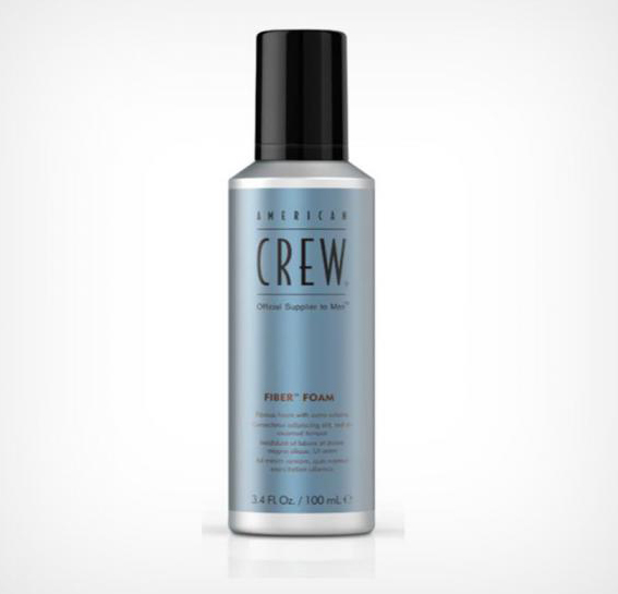 American Crew Fiber Grooming foam - stylingová pěna, 200 ml