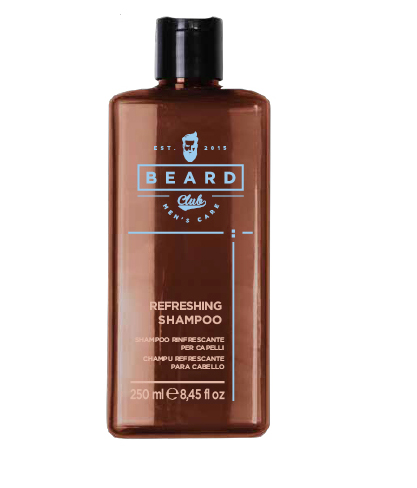 ​Beard Club Refreshing shampoo - osvěžující šampon, 250 ml