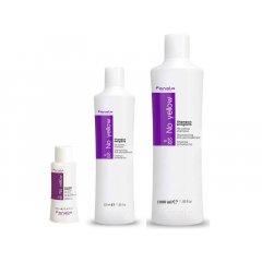 Fanola No yellow shampoo - šampón na šedivé, zosvetlené a odfarbované vlasy