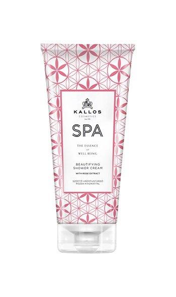 Kallos SPA Beautifying Shower cream - sprchový krém s extraktem z růží 200 ml DÁREK