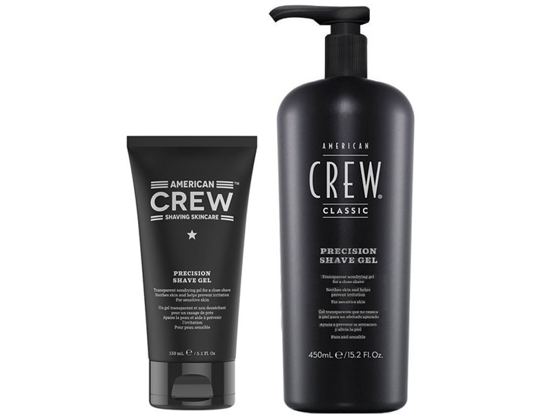 American Crew Shaving Skincare Precision Shave Gel - gel na holení pro citlivou pleť