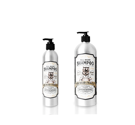 Mr. Bear Family Springwood Shampoo - Šampón na vlasy