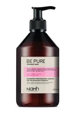 Niamh Hairkoncept Be Pure Prevent Hair Loss Shampoo - šampón proti padaniu vlasov, 500 ml