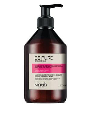 Niamh Hairkoncept Be Pure Prevent Hair Loss Mask - maska ​​proti padání vlasů, 500 ml