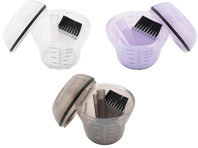 Sibel - shaker na míchání barev na vlasy a melíru, 200 ml
