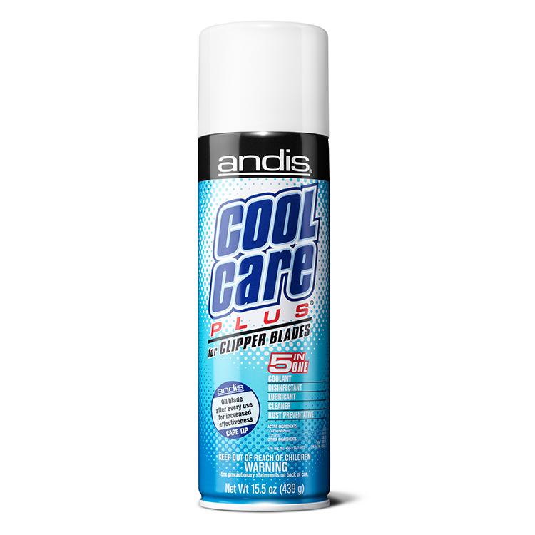 Andis Cool Care Plus - chladiaci sprej 5v1 na strojčeky, 439 g