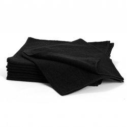 Cotton Towels, black 5097 - bavlněný ručník, černý, 34 x 82 cm, 1 ks