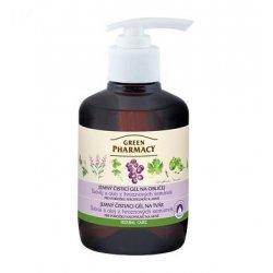 Green Pharmacy Šalvěj a olej z hroznových semínek - jemný čistící gel na obličej, 270 ml