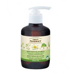 Green Pharmacy Zelený čaj a ginkgo biloba - jemný čistící gel na obličej, 270 ml