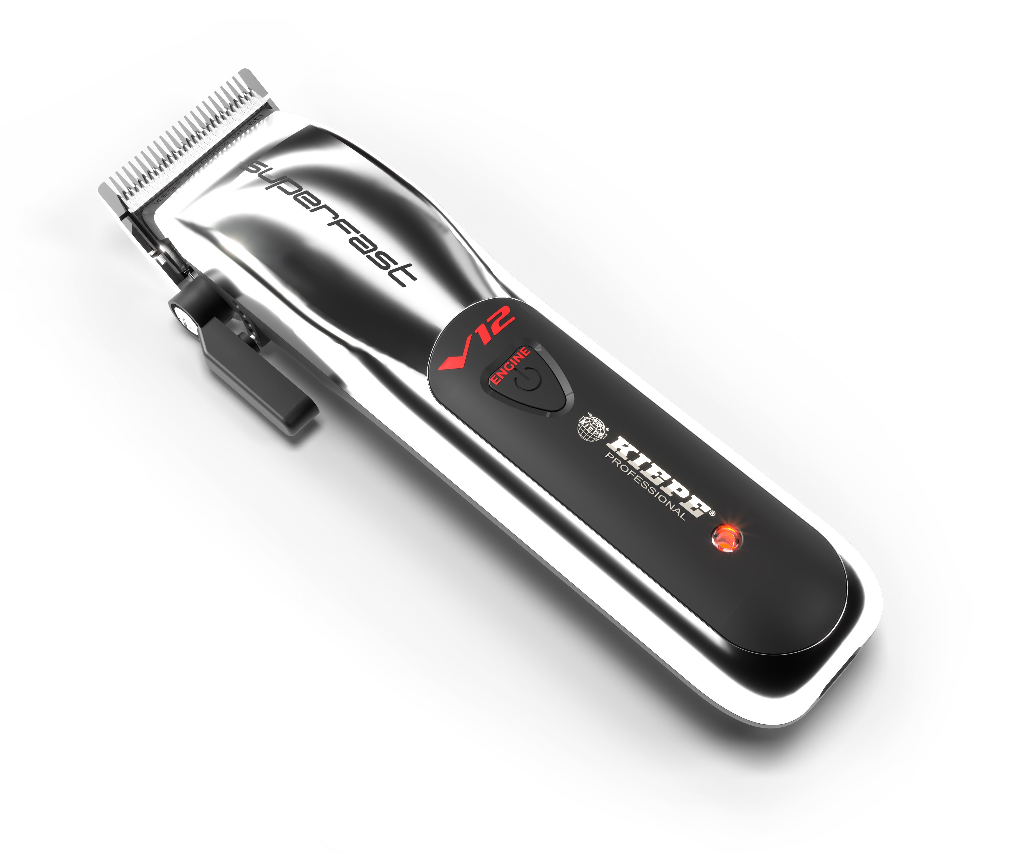 Kiepe V12 Superfast Clipper 6335  - profesionálny akumulátorový strojček + Gembird - stlačený vzduch, 400 ml