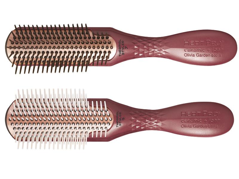 Olivia Garden Heat Pro Ceramic + Ion Styler - profesionální kartáče na vlasy
