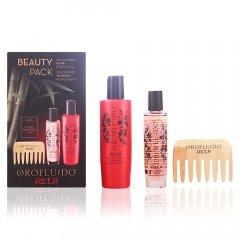 Orofluido Asia set Beauty - šampón, 200 ml + elixír, 50 ml + bambusový hrebeň