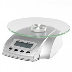Salon Scale 4927 - digitálna váha, strieborná