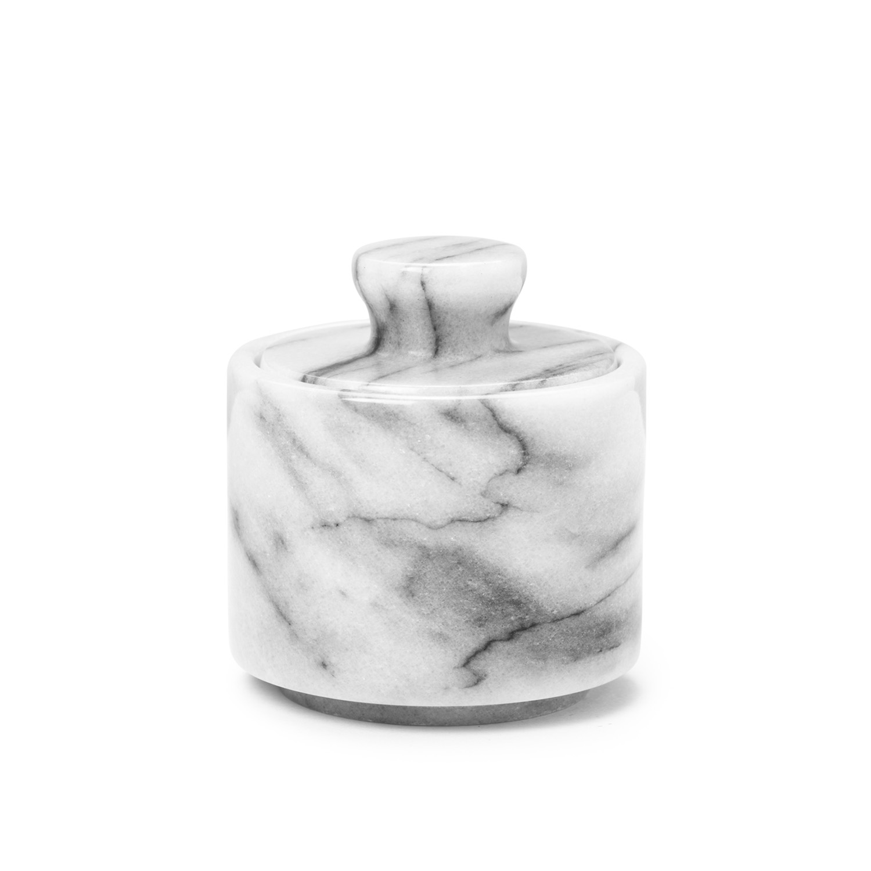 Shaving Soap Bowl, White Marble 1961 - miska na holiace mydlo, biely mramor