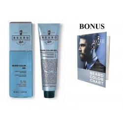 AKCE: 10 ks Beard Club Beard Color Gel - gelová barva na barvení brady, 60 ml + vzorník