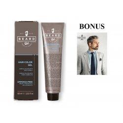 AKCIA: 10 ks Beard Club Hair Color Gel - gélová farba na vlasy pre mužov, 60 ml + plagát Man 67