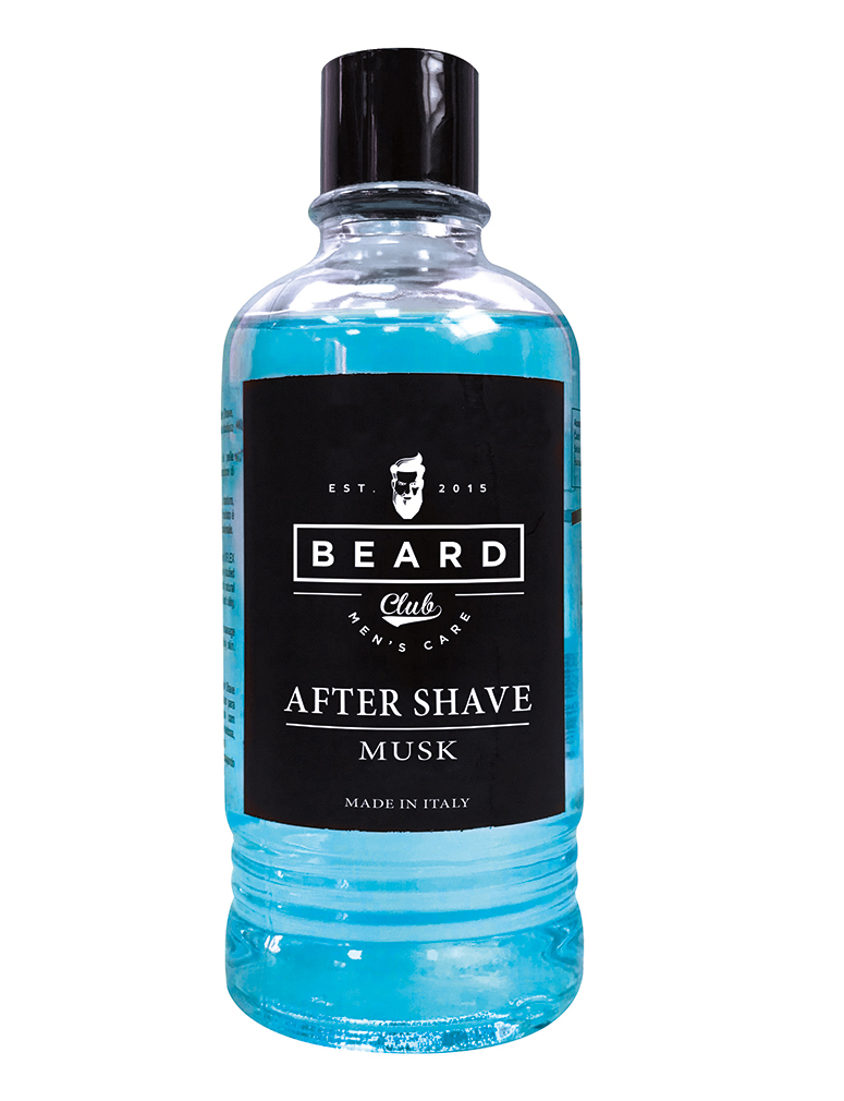 Beard Club After Shave Musk - voda po holení s vůní pižma, 400 ml