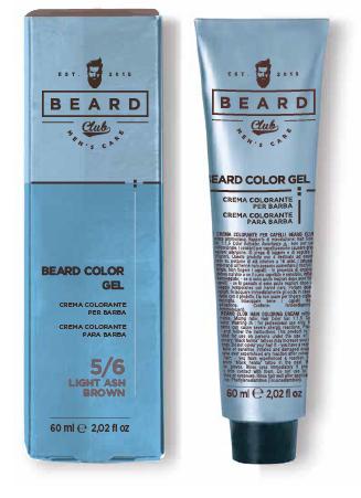 Beard Club Beard Color Gel - gélová farba na farbenie brady, 60 ml