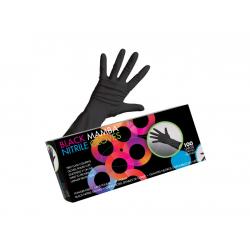 Framar Black Mamba Nitrile Gloves - nitrilové rukavice, čierne, 100 ks