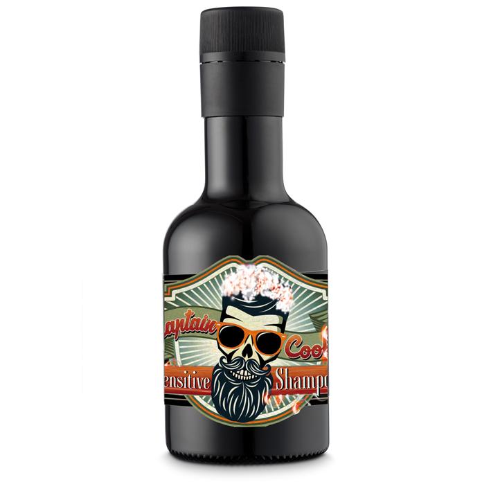 Captain Cook 04963 Sensitive Scalp Shampoo - šampón na citlivú pokožku hlavy, 250 ml