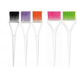 Eurostil Dye Brush Transp. Colours Bristles - štetce na aplikáciu farieb a melírov