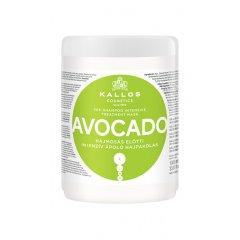 Kallos Avocado Pre-shampoo mask - intenzivní výživná maska před použitím šampónu, 1000 ml