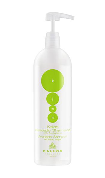 Kallos KJMN Avocado Shampoo - šampon s avokádovým olejem, 1000 ml