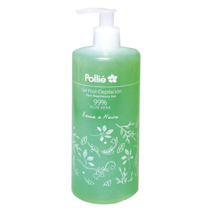 Pollié 03613 Post- Depil Aloe vera - gel po depilaci s aloe vera, 500 ml