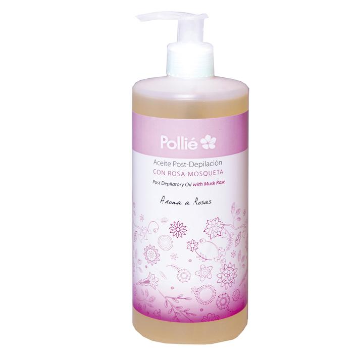Pollié 03614 Post - Depil Rose Hip - olej po depilácii s extraktom šípovej ruže, 500 ml