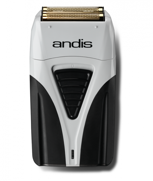 Andis ProFoil Shaver Plus 17 205 - profesionální holicí strojek + Gembird - stlačený vzduch, 400 ml