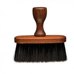 Barber Line Wooden Barber Brush 06070 - drevený oprašovák na vlasy