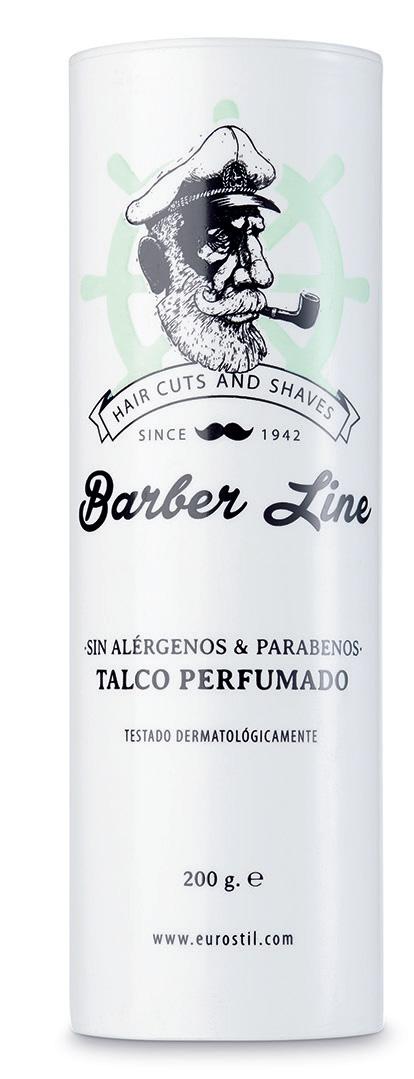 Barber Line Talk 06428 - púder na odstránenie vlhkosti a upokojenie pokožky, 200 g
