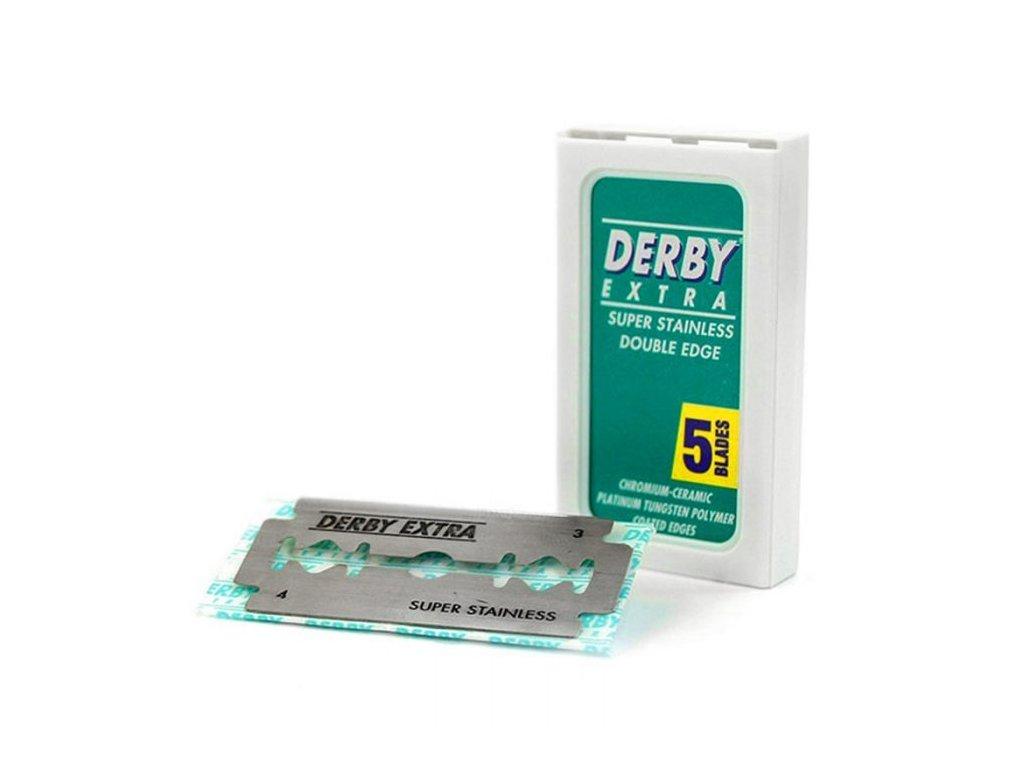 DERBY - Extra 02956 - Náhradné žiletky, 5ks