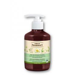 Green Pharmacy Čajovník a nechtík lekársky - gél na intímnu hygienu s normalizačným účinkom, 370 ml