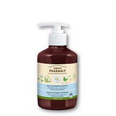 Green Pharmacy Heřmánek a alantoin - gel na intimní hygienu pro citlivou pokožku, 370 ml
