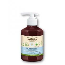 Green Pharmacy Harmanček a alantoín  - gél na intímnu hygienu pre citlivú pokožku, 370 ml