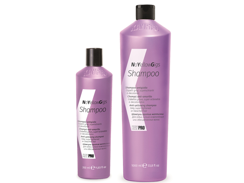 KAY PRO NoYellow Gigs Shampoo - šampón pre neutralizáciu nežiaducich žltých tónov