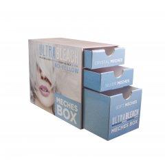 KAY PRO Ultra Bleach Meches Box - sada fólii na kreatívne farbenie a odfarbenie vlasov