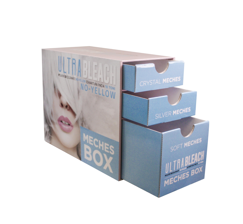 KAY PRO Ultra Bleach Meches Box - sada fólii na kreativní barvení a odbarvení vlasů