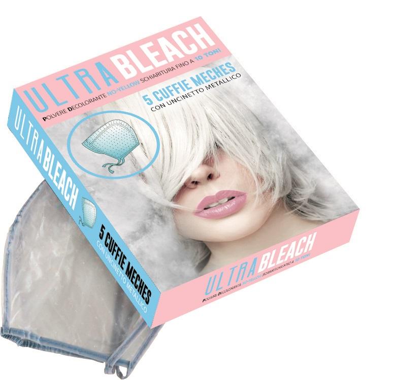 KAY PRO Ultra Bleach Meches Cap /20463/ - čiapky na melír, 5 ks