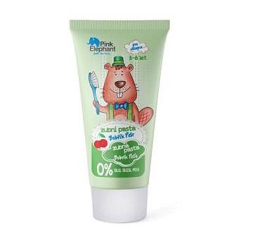 Pink Elephant Bobrík Peťo - zubná pasta pre chlapcov, 50 ml