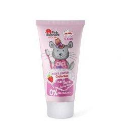 Pink Elephant Činčila Nela - zubní pasta pro dívky, 50 ml