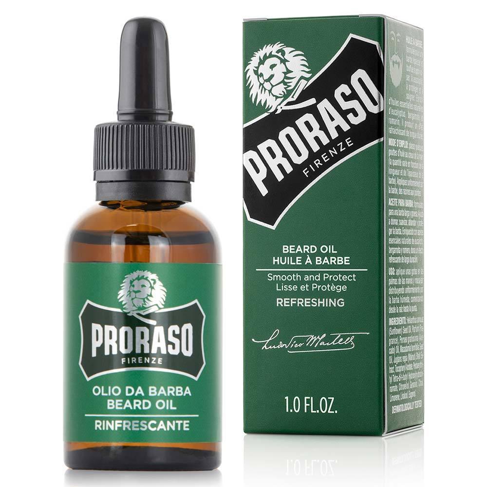 Proraso Beard Oil Refreshing - osviežujúci ochranný olej na bradu, 30 ml