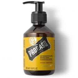 Proraso Beard Wash Wood and Spice - šampón na bradu s vôňou cédru a korenín, 200 ml